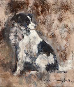 Con Campbell, Sheep Dog at Morgan O'Driscoll Art Auctions