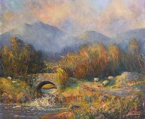 Seamus Coleman, Autumn, Connemara at Morgan O'Driscoll Art Auctions