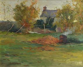 Paul Kelly, Country Garden at Morgan O'Driscoll Art Auctions