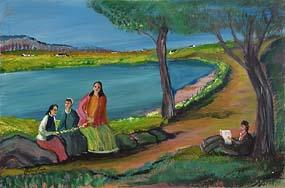 Jimmy Bingham, Daisy Chain at Morgan O'Driscoll Art Auctions