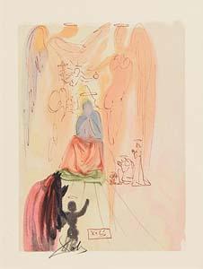 Salvador Dali, The Triumph of Christ & Virgin - Paradise/ Canto 23 - The Divine Comedy (1960) at Morgan O'Driscoll Art Auctions