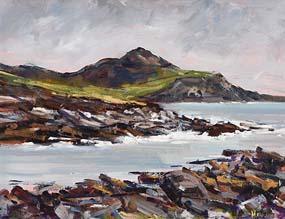 Michael Hanrahan, Dooega, Achill, Co. Mayo at Morgan O'Driscoll Art Auctions