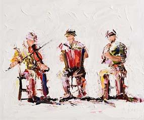 J.P. Neeson, Craic agus Ceol at Morgan O'Driscoll Art Auctions