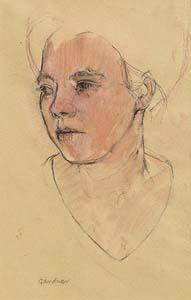 Alexandra Gardner, Head of a Young Woman 2001 at Morgan O'Driscoll Art Auctions