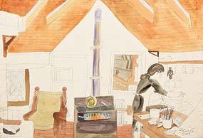 Pauline Bewick, Regina in Artist's Studio (2005) at Morgan O'Driscoll Art Auctions