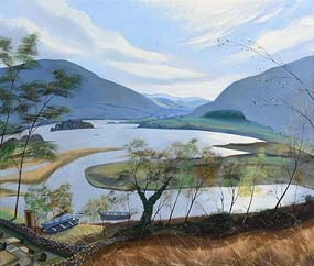 Nicholas Hely Hutchinson, Beltra Lough, Co Mayo at Morgan O'Driscoll Art Auctions