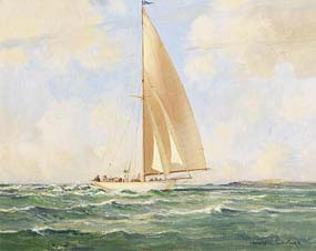 Maurice Canning Wilks, Under Sail on the Irish Sea at Morgan O'Driscoll Art Auctions