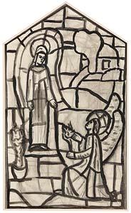 Evie Hone, The Annunciation at Morgan O'Driscoll Art Auctions