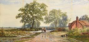 John Faulkner, Figure on Horseback at Morgan O'Driscoll Art Auctions