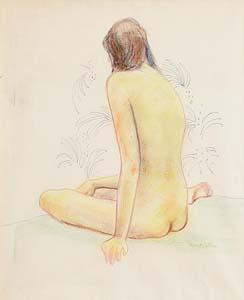 Gerard Dillon, Nude Study at Morgan O'Driscoll Art Auctions