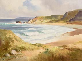Maurice Canning Wilks, Co Antrim Coastline at Morgan O'Driscoll Art Auctions