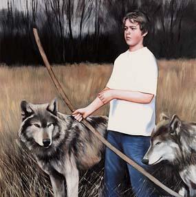 Gerard M. Burns, The Young Hunter at Morgan O'Driscoll Art Auctions