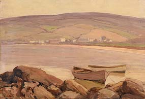 James Humbert Craig, Cushendun at Morgan O'Driscoll Art Auctions