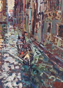 Arthur K. Maderson, Venice Evening at Morgan O'Driscoll Art Auctions