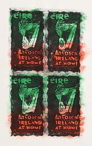 Neil Shawcross, Irish Stamps at Morgan O'Driscoll Art Auctions