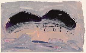 Basil Blackshaw, House in a Landscape at Morgan O'Driscoll Art Auctions