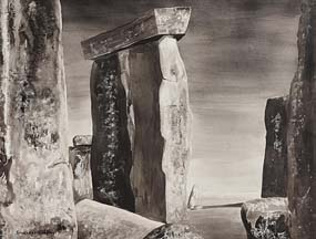 Maria Simonds-Gooding, Stonehenge at Morgan O'Driscoll Art Auctions