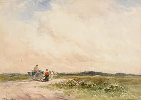Wycliffe Egginton, A Wayside Gossip at Morgan O'Driscoll Art Auctions