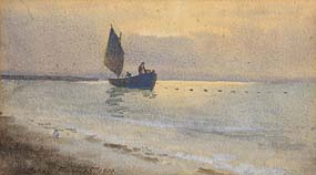 Percy French, Hauling the Nets at Morgan O'Driscoll Art Auctions