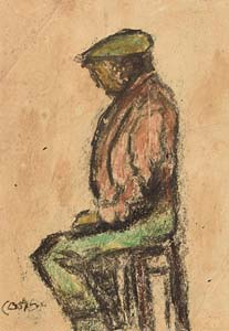 William Conor, Belfast Shipyard Worker on 15th April 1912 (Day Titanic Sank) at Morgan O'Driscoll Art Auctions