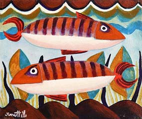 Graham Knuttel, Fish Go Deep at Morgan O'Driscoll Art Auctions
