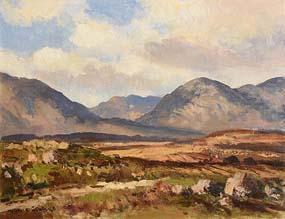 Maurice Canning Wilks, Connemara Landscape Near Recess at Morgan O'Driscoll Art Auctions
