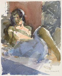 Ken Howard, Reclining Nude at Morgan O'Driscoll Art Auctions