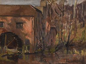 Mabel Young, Old Watermill at Morgan O'Driscoll Art Auctions