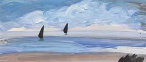 Markey Robinson, Sailing off the Coast at Morgan O'Driscoll Art Auctions