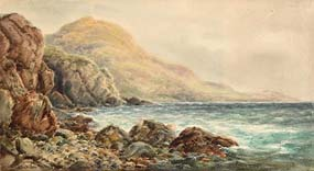 Alexander Williams, Red Rock Bay, Howth, Co Dublin at Morgan O'Driscoll Art Auctions