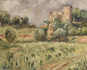 Ronald Ossory Dunlop, Castle at Morgan O'Driscoll Art Auctions