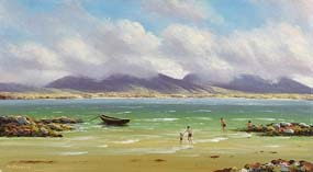 Gerard Marjoram, Connemara Seascape at Morgan O'Driscoll Art Auctions