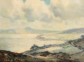 Charles J. McAuley, Cushendun, Co. Antrim at Morgan O'Driscoll Art Auctions
