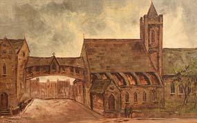 Tom Cullen, Christchurch Cathedral, Dublin (1980) at Morgan O'Driscoll Art Auctions