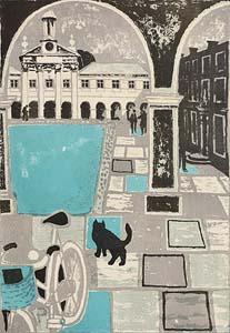 Julian Trevelyan, Emanuel College, Cambridge at Morgan O'Driscoll Art Auctions
