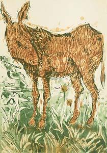 John Behan, Donkey at Morgan O'Driscoll Art Auctions