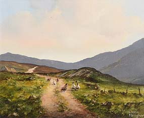 Eileen Meagher, Foraging on Mountain Track at Morgan O'Driscoll Art Auctions