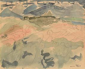 Nano Reid, Island Coast, Inishlacken at Morgan O'Driscoll Art Auctions