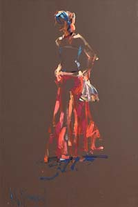 Arthur K. Maderson, Figure Against Evening Light at Morgan O'Driscoll Art Auctions