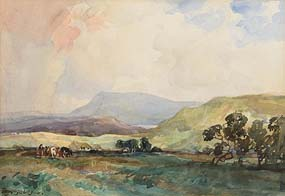 Frank McKelvey, Near Muckish, Co. Donegal at Morgan O'Driscoll Art Auctions