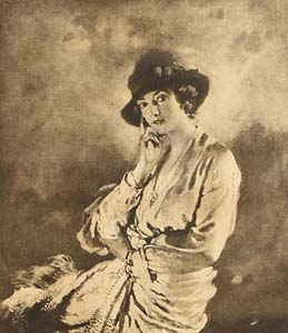 Sir William Orpen, Portrait of Lily Carstairs, 1915 at Morgan O'Driscoll Art Auctions