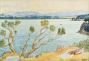 Harry Aaron Kernoff, Arbutus and the Kerry Hills, Killarney at Morgan O'Driscoll Art Auctions