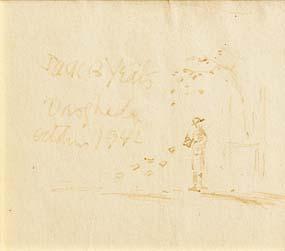 Jack Butler Yeats, Drogheda, October 1942 at Morgan O'Driscoll Art Auctions
