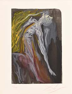 Salvador Dali, Hell -  from La Divine Comedie Series (1960) at Morgan O'Driscoll Art Auctions