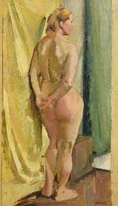 Barbara Warren, Female Nude at Morgan O'Driscoll Art Auctions