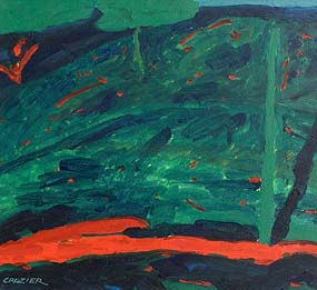 William Crozier, St Katharines Hill, Night (1983) at Morgan O'Driscoll Art Auctions