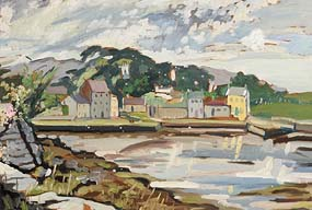 Kitty Wilmer O'Brien, Little Harbour, North Clare (1972) at Morgan O'Driscoll Art Auctions