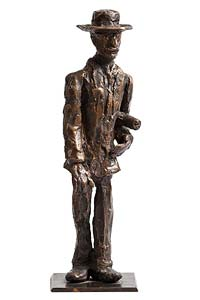 John Behan, Wandering Mr Bloom from Ulysses at Morgan O'Driscoll Art Auctions