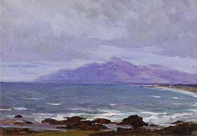 Hans Iten, Slieve Donard, Mourne Mountains at Morgan O'Driscoll Art Auctions