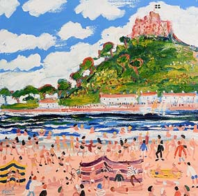 Simeon Stafford, St Michael's Mount, Cornwall at Morgan O'Driscoll Art Auctions